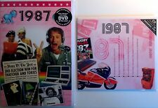 1987 (29th) Birthday Gifts Set - 1987 DVD , Pop CD and Card - CD Card Company.