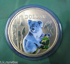 2008 Land Series $1 pad printed KOALA coin in card. ALWAYS POPULAR!