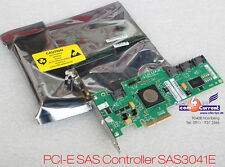 NEW SAS RAID SATA CONTROLLER PCI-E LSI sas3041e server 2003; 2008 PCI-Express