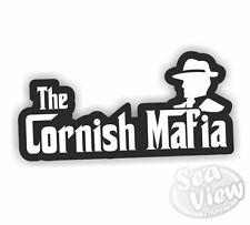 The Cornish Mafia Stickers St Piran Flag Kernow Car Van Decal Crest