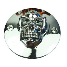 Allumage couvercle allumage Cover skull pour Harley Davidson sportster big twin