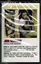 FROGS FOR SNAKES - JOHN HAMMOND  (CASSETTE) BRAND NEW FACTORY SEALED