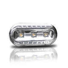 2x LED Klarglas Seitenblinker Blinker SET CHROM TÜV FREI #2 VW Seat Skoda Ford