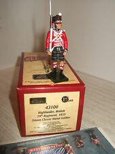 Britains 43100 Napoleonic Era 79th Regiment Highlander with Rifle,1815 in 54mm