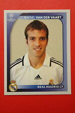 PANINI CHAMPIONS LEAGUE 2008/09 # 445 REAL MADRID FC VN DER VAART MINT!