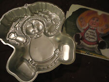 Vintage Wilton CABBAGE PATCH KIDS Cake Pan with Instructions Baking Cakes