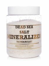 500g Dead Sea salt mineralized from Jordan Natural•Bath & Relax 100% Pure•
