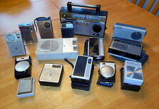 LOT OF 15 SONY TRANSISTOR RADIOS - VINTAGE ONES!