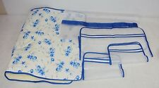 5 Piece Laundry Set ~ Ironing Pad, 3 Garment Pouches, Drawstring Laundry Bag