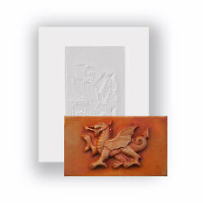 Food Safe Silicone Mould - Welsh Dragon - Mini Chocolate Bar Mould