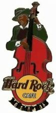 Hard Rock Cafe MEMPHIS 2002 Man Playing Red Stand Up (Doghouse) Bass PIN #21971