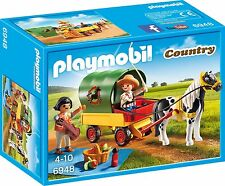 Playmobil 6948 Picnic with Pony Wagon Toy