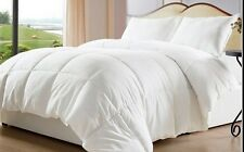 White Goose Down Alternative Comforter Duvet Cover Insert  Queen Size