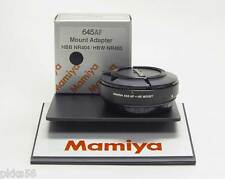 Mamiya mount adapter (Hasselblad V lenses to Mamiya ZD, AF, AFD series bodies)!