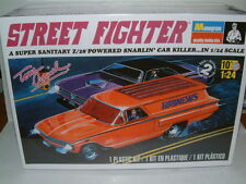 "Monograma 1/24 1960 Chevrolet PANEL VAN ""Street Fighter"" Tom Daniel, Kit De Plástico"
