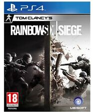 Brand New Tom Clancy's Rainbow Six Siege PS4 PLAYSTATION 4 GAME IN STOCK