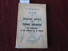 POINSOT COULEURS METAUX ET PIERRES PRECIEUSES LEUR SYMBOLISME ET LEUR INF...