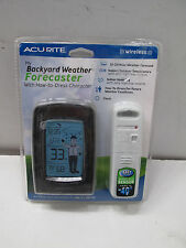 AcuRite -NEW- ☁My Backyard Weather Forecaster☁ #Wireless-(what to wear); 411-96C
