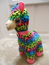 Brand New!! With Tags Colorful Animal Prints PAJAMA LLAMA PLUSH CUTE GOODSTUFF