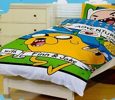 Adventure Time Jake Finn Queen Size Quilt Cover Set New
