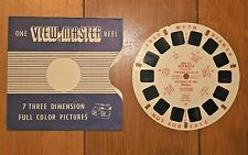 VINTAGE PICTURE TOUR  NATIONS OF THE WORLD  VIEW MASTER REELS DRE 9 E DEMO REEL