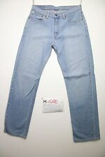 Levi's 751 boy (Cod.H1496) Tg.48 W34  L34  boyfriend jeans usato