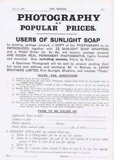 1901 Fearless Footsteps Waterloo Cup Permanent Photographs For Sunlight Soap