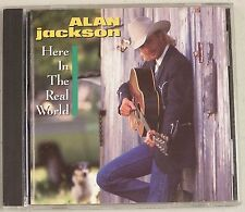 Here in the Real World Alan Jackson MUSIC CD