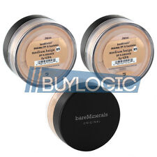 bareMinerals SPF 15 MEDIUM BEIGE N20 Foundation LARGE 8gm 3 Pack - FREE SHIPPING