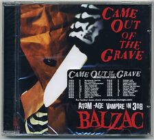 Balzac - Came Out Of The Grave CD EURO VERSION + BONUS Horrorpunk Misfits Other
