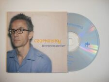 CZERKINSKY : LE MONDE ENTIER [ CD SINGLE PORT GRATUIT ]