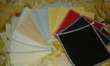 12 sq OF 4in x 4in OVER LOCKED 18ct AIDA 8 colours IDEAL 4 CARD MAKING  ANCHOR