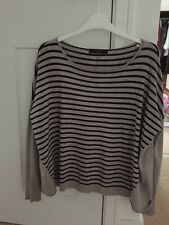 Max Mara Weekend Grey Black Jumper 10 12