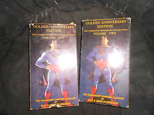 Superman Golden Anniversary Edition vhs  Vols. 1 & 2, complete collection, GD