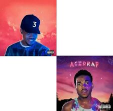 "Chance The Rapper (2- CD)- ""Coloring Book + Acid Rap"" Official Mixtape Mix CD."