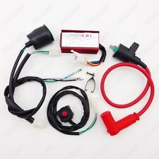 Racing Ignition Coil CDI Wiring Loom Kill Switch 50-160cc SSR YCF Pit Dirt Bike