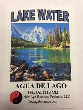 NEW AGE BOTANICA PRODUCTS GENUINE LAKE WATER 4 FL OZ (AGUA DE LAGO)