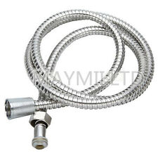 New Flexible 1.5M Chrome Stainless Steel Bathroom Bath Shower Water Hose Pipe N