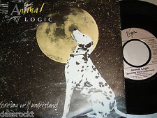 "7"" - Animal Logic / Someday we´ll understand & Lopsy Lu (Live) - PROMO 1989"
