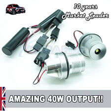 40W CREE White LED ANGEL EYES MARKER KIT UPGRADE BMW E53 E60 E63 E64 E65 E66 E87