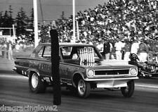 "Gene Snow ""Rambunctious"" 1966 Dodge Dart Injected NITRO Funny Car PHOTO!"
