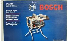 NEW! Bosch GTA500 Tool-Free Folding Table Saw Stand for Bosch GTS1031 table saw