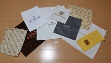A-858 Various Brand Storage Dust Bag Cover 9 Piece Set Lot Bundle Used