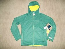 BURTON mens SOFTSHELL Fleece Lined DryRide CHILL Hooded JACKET Size MEDIUM  NEW