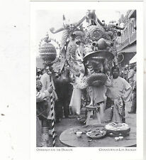 "*Postcard-""Offerings For The Dragon"" -ChinaTown in Los Angeles, CA. (#55)"