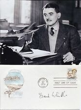 Frank Whittle British Aviation Pioneer Invented Turbojet Engine Autograph Cover