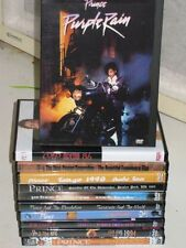 Prince Live In Concert DVD Purple Rain Lovesexy Greatest Hits Sign O The Times