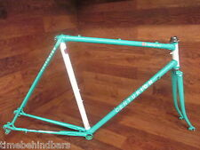 RARE VINTAGE CENTURION LE MANS RS LUGGED STEEL ROAD BIKE FRAME SET 55CM