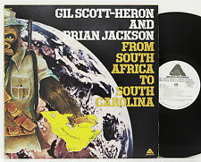 Gil Scott Heron        From South Africa           Promo        NM # D
