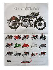 Minichamps Plakat - Motorradträume - Poster Fertigmodelle 1:6 / 1:12 59 x 41,5cm